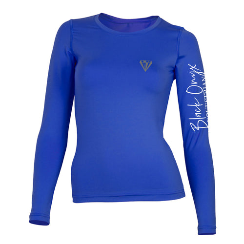 Ladies Crew Base Layer - Royal Blue