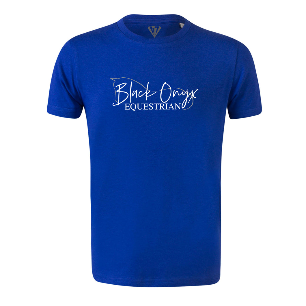Young Talent Crew Neck T-Shirt - Royal Blue