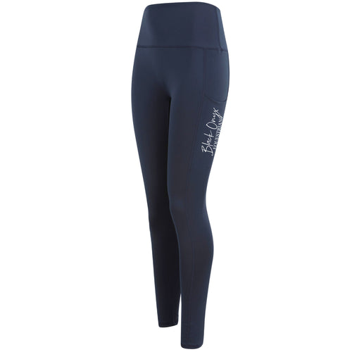 Ladies Pocket Leggings - Navy