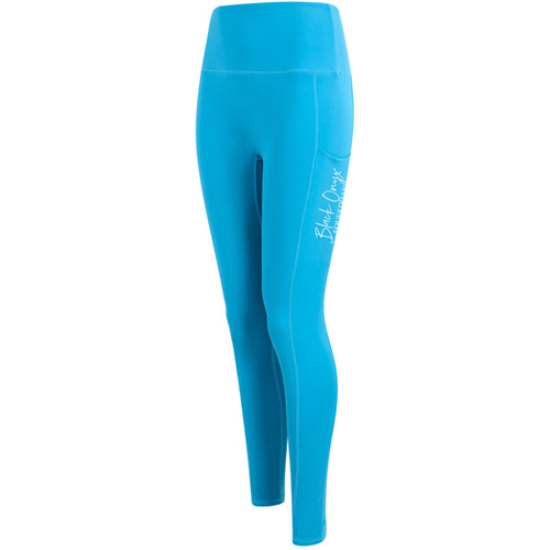 Ladies Pocket Leggings - Turquoise
