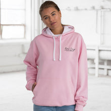 Load image into Gallery viewer, Unisex Contrast Hoodie - Baby Pink
