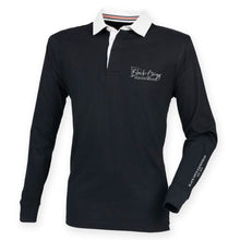 Load image into Gallery viewer, Men's Slim Fit Premium Rugby Shirt - Black