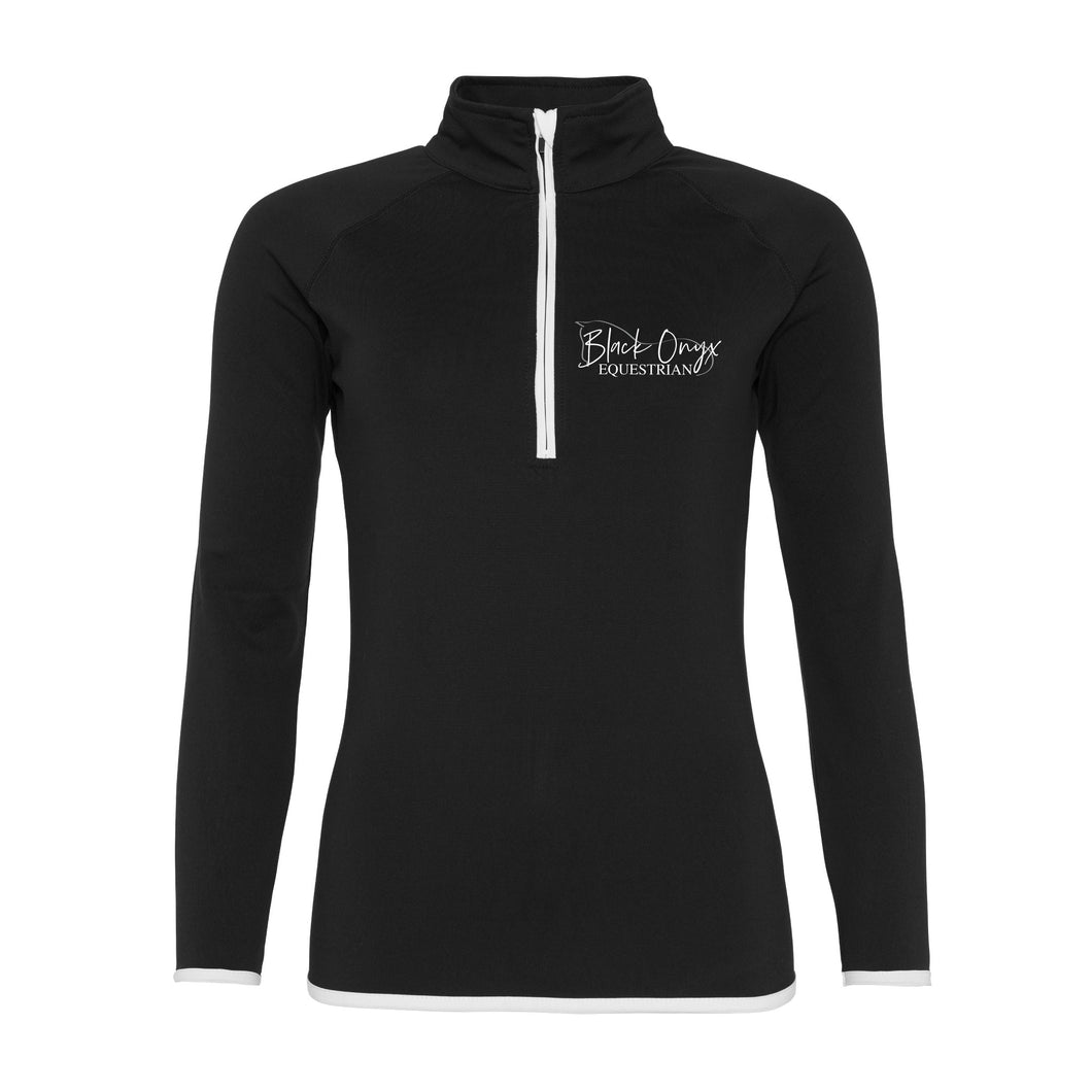 Ladies Technical Stretch Base Layer - Black