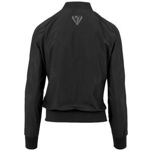 Ladies Bomber Jacket - Black
