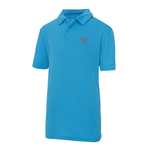 Young Talent Keep Cool Performance Polo - Sapphire
