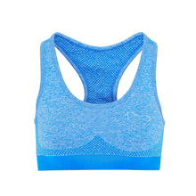Load image into Gallery viewer, Seamless 3D Sculpt Sports Bra - Blue