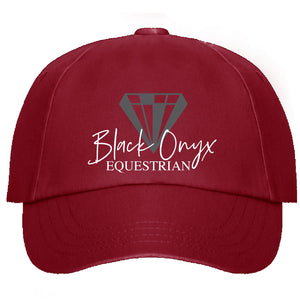 Signature Diamond Baseball Cap - Burgundy
