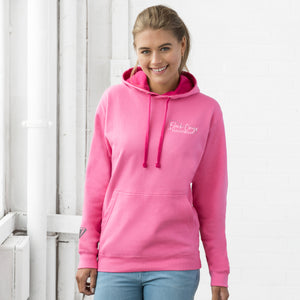 Unisex Contrast Hoodie - Candyfloss