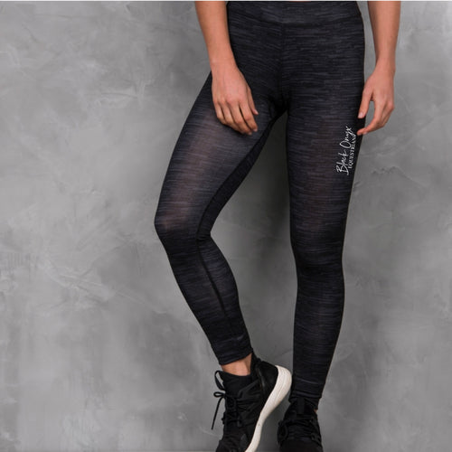 Ladies Everyday Charcoal Leggings