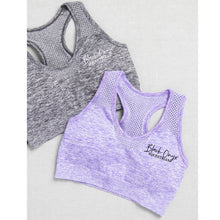 Load image into Gallery viewer, Seamless Sports Bra - Purple