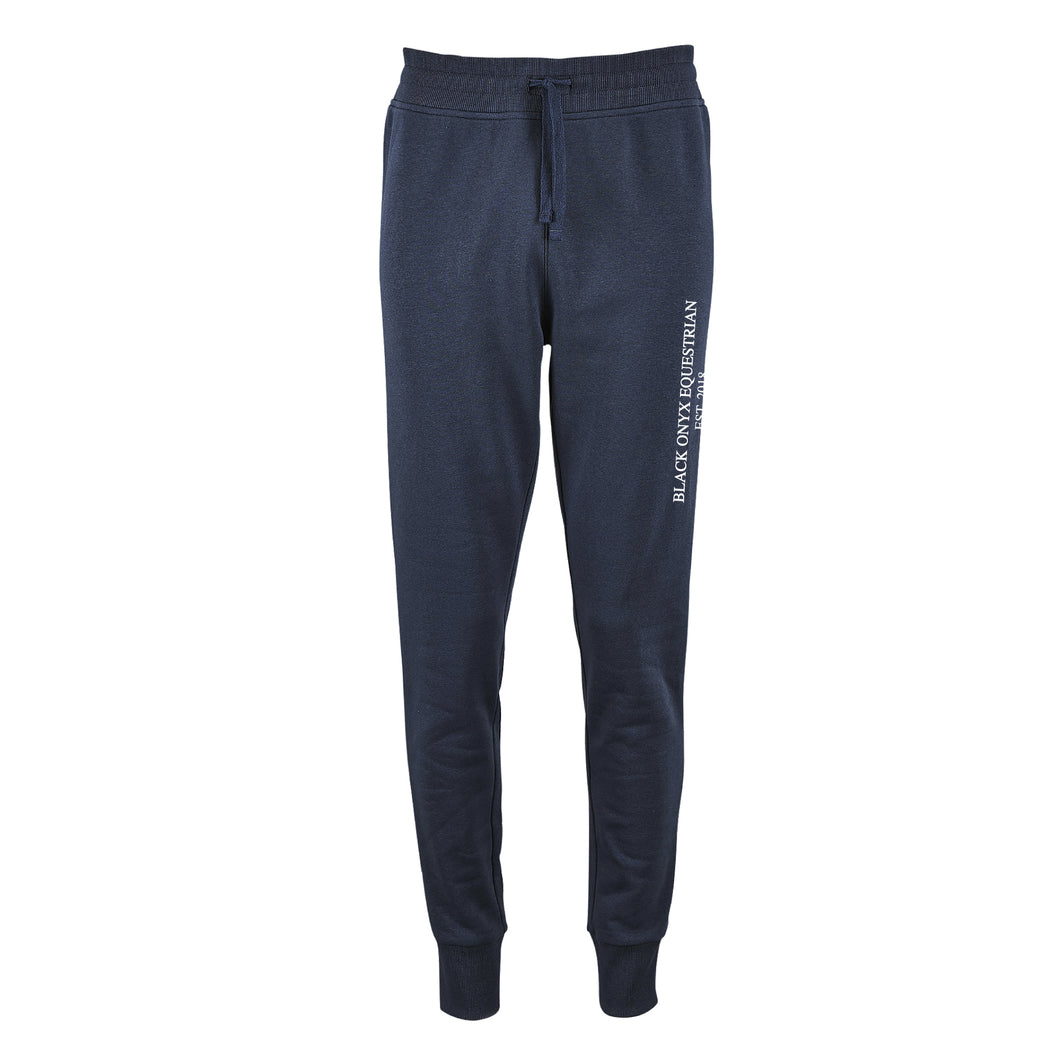 Ladies Slim Fit Jog Pants - Navy