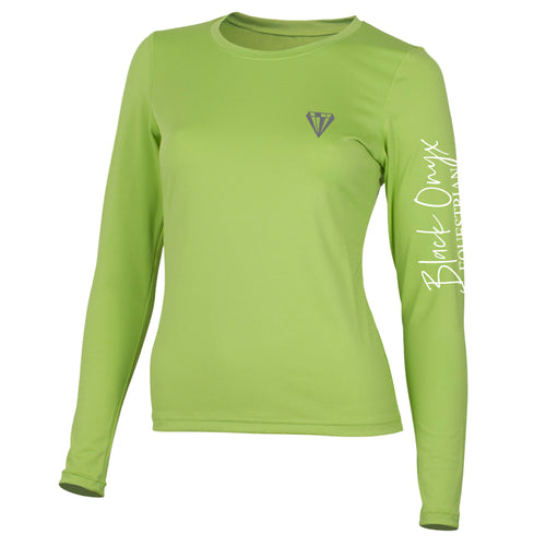 Ladies Crew Base Layer - Lime