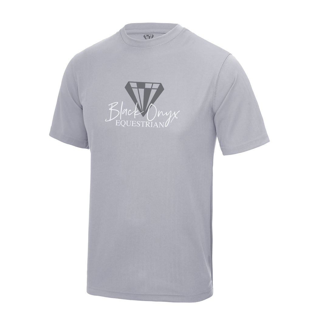 Young Talent Keep Cool Performance T-Shirt - Heather Grey