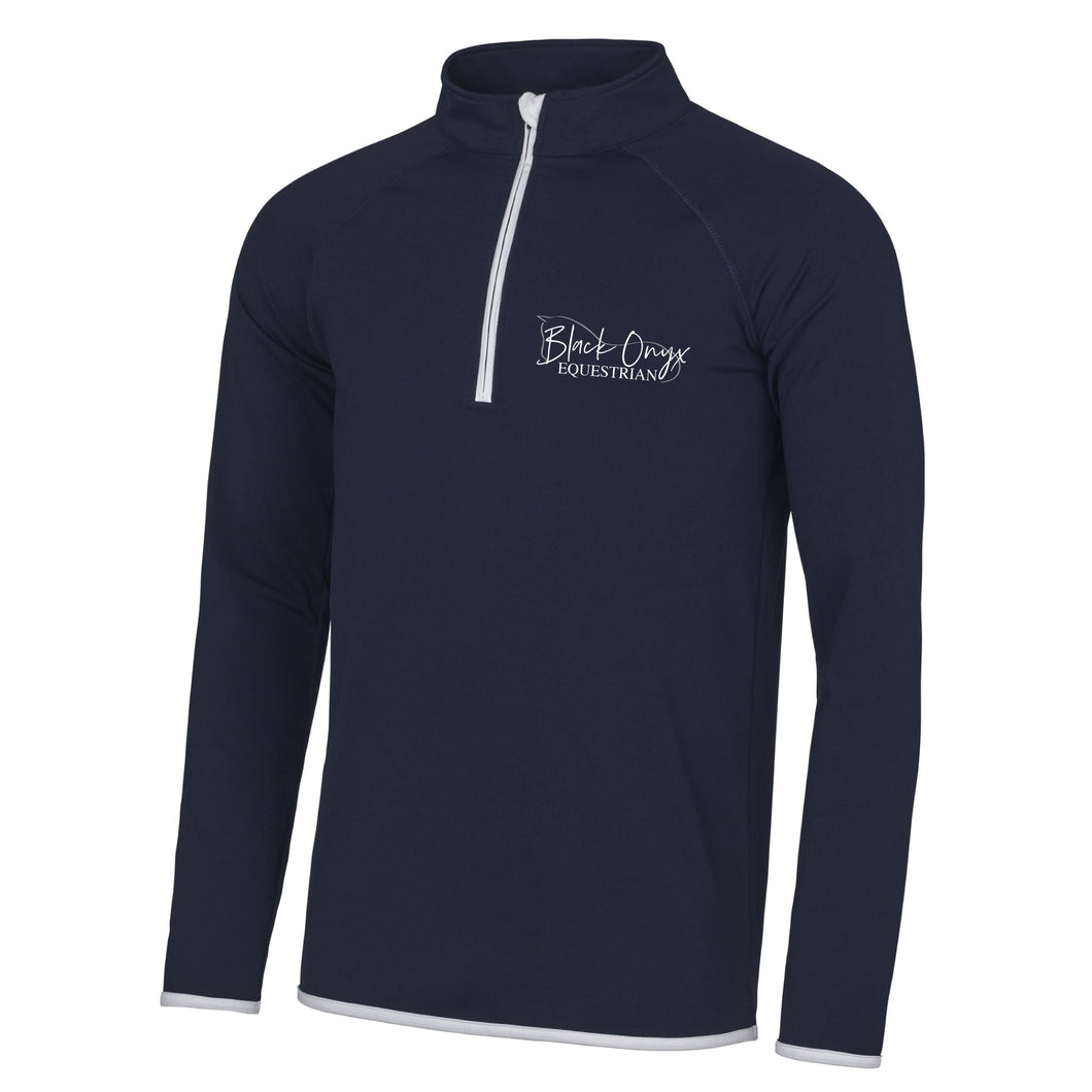 Men's Technical Stretch Base Layer - Navy