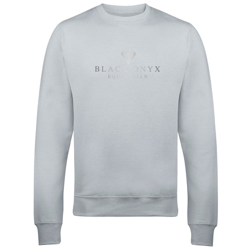 Metallic Unisex Drop Shoulder Sweatshirt - Moondust