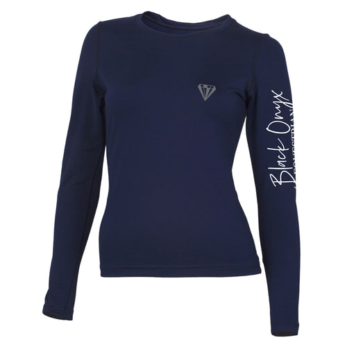 Ladies Crew Base Layer - Navy