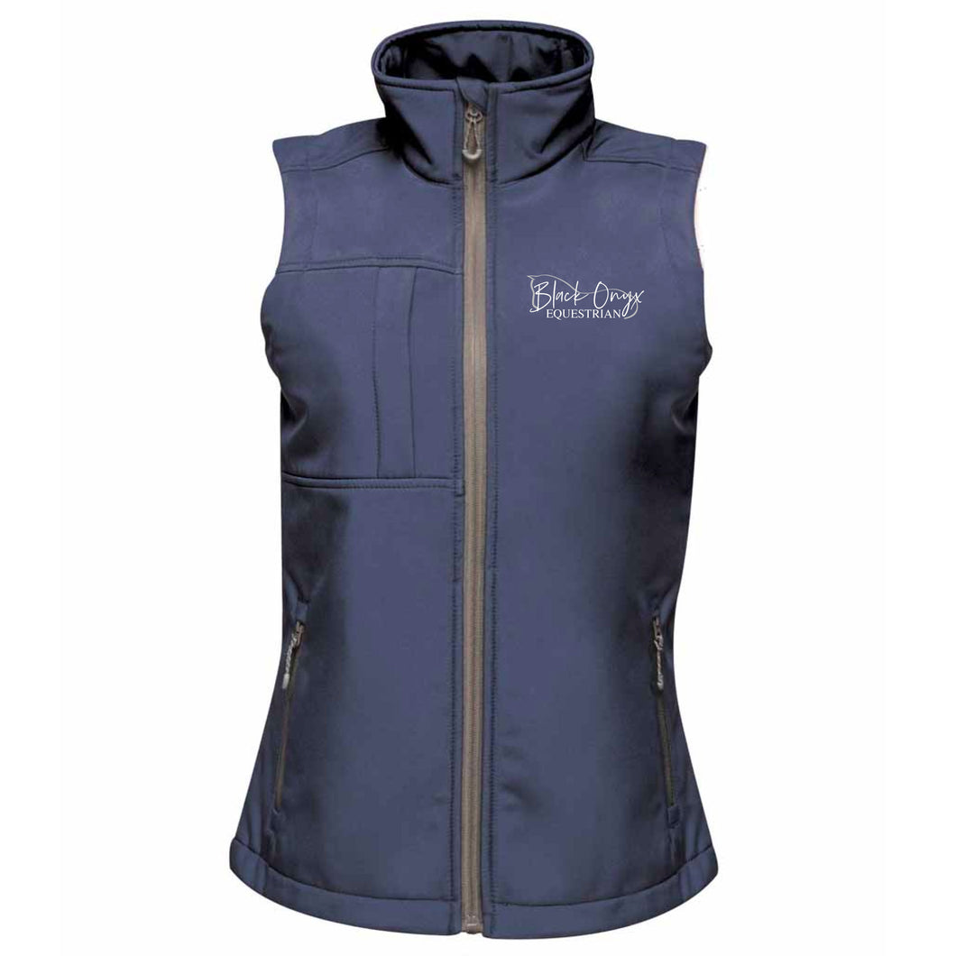 Ladies Soft Shell Gilet - Navy