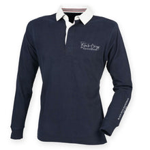 Load image into Gallery viewer, Men's Slim Fit Premium Rugby Shirt - Navy