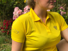 Load image into Gallery viewer, Ladies Keep Cool Performance Polo Shirt - Yellow