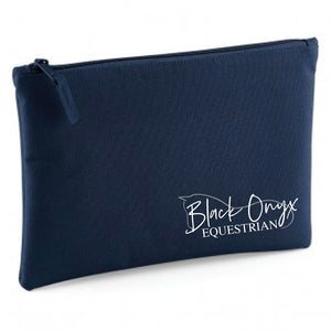 Black Onyx Grab Pouch - Navy