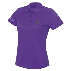 Ladies Keep Cool Performance Polo Shirt - Purple