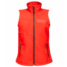 Load image into Gallery viewer, Ladies Soft Shell Gilet - Red