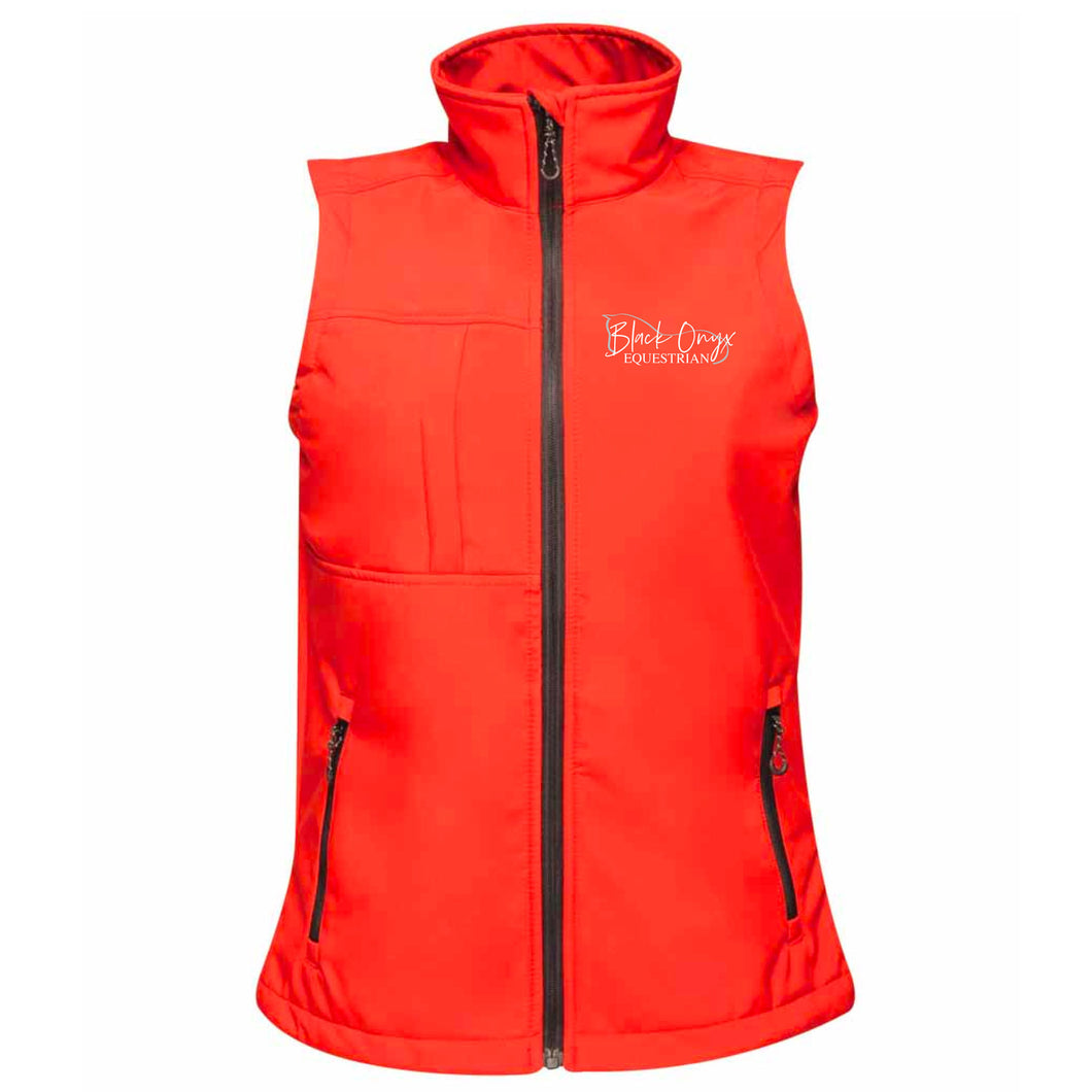 Ladies Soft Shell Gilet - Red