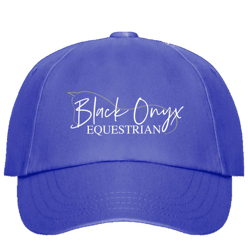 Black Onyx Baseball Cap - Royal Blue