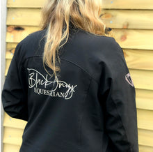 Load image into Gallery viewer, Ladies Soft Shell Jacket - Black