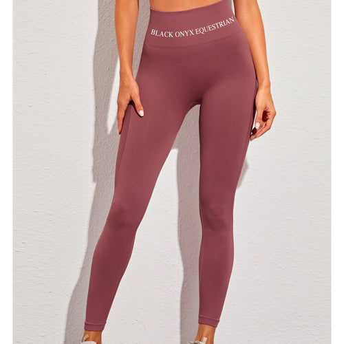 Ladies Everyday Training Leggings - Dark Rose