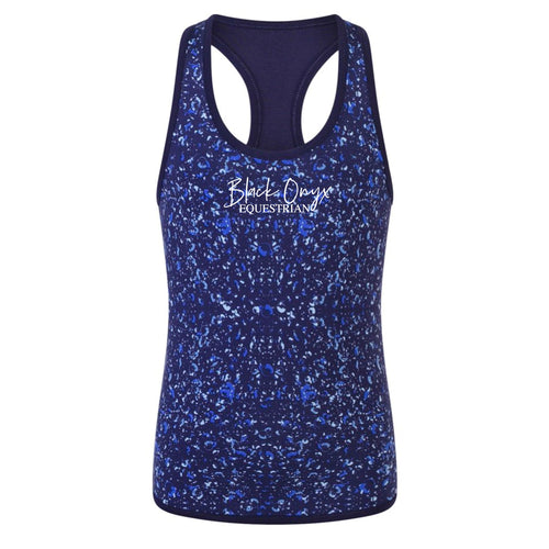 Ladies Reversible Training Vest - Bubbles