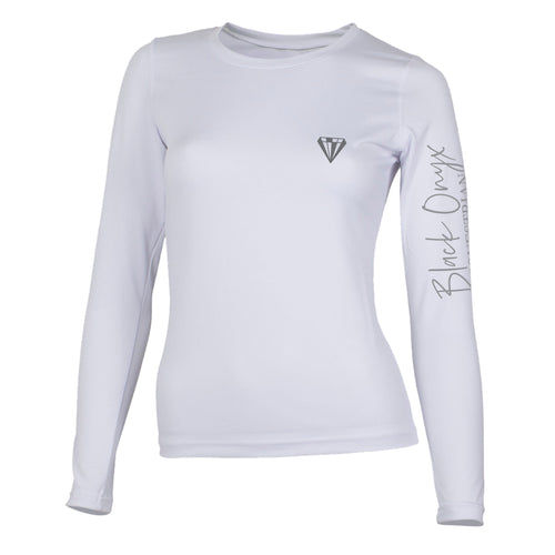 Ladies Crew Base Layer - White