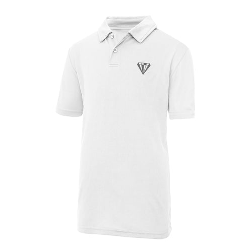 Young Talent Keep Cool Performance Polo - White