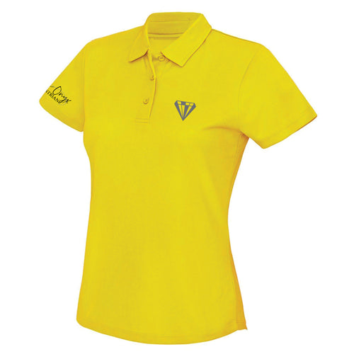 Ladies Keep Cool Performance Polo Shirt - Yellow