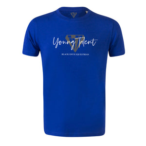 Young Talent Signature Crew Neck T-Shirt - Royal Blue