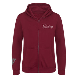 Young Talent Zip Hoodie - Burgundy