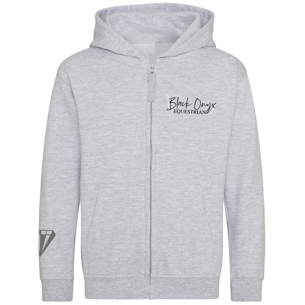 Young Talent Zip Hoodie - Grey