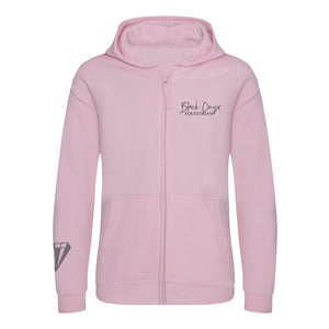 Young Talent Zip Hoodie - Pink
