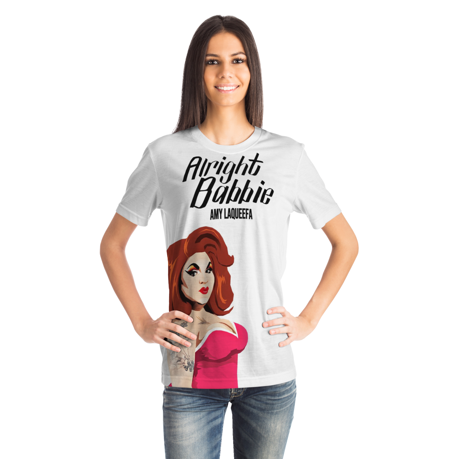 Alright Babbie, Amy LaQueefa t-shirt
