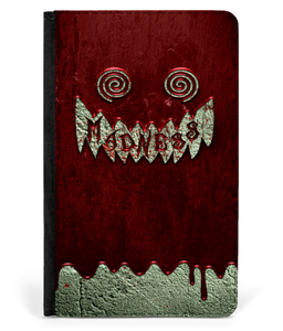 iPad 2/3/4 Faux Leather Flip Case Madness Blood Wall