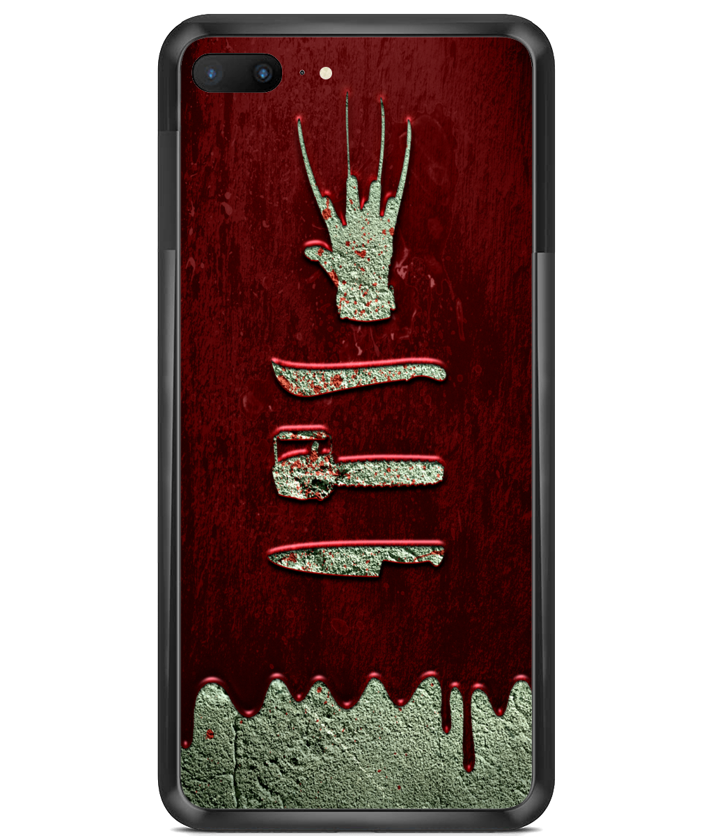 Premium Hard Phone Cases Movie Mainiac Blood Wall