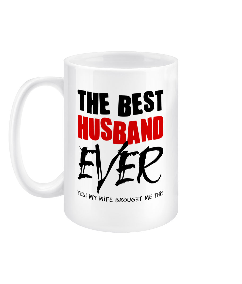 the best husband (from wife) 15oz-mug