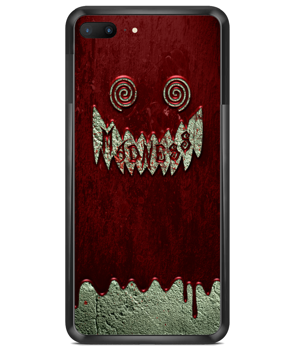 Premium Hard Phone Cases Madness Blood Wall