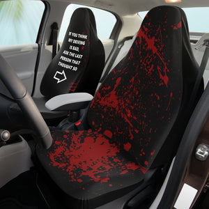 Bad Diving Novelty Car Seat Covers ( right )