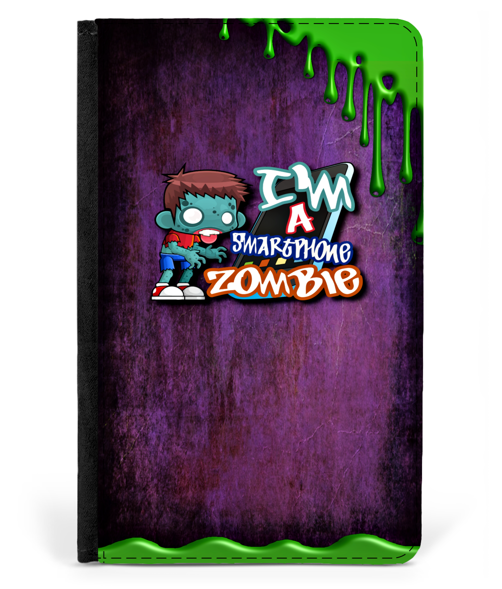 iPad 2/3/4 Faux Leather Flip Case Smartphone Zombie Case