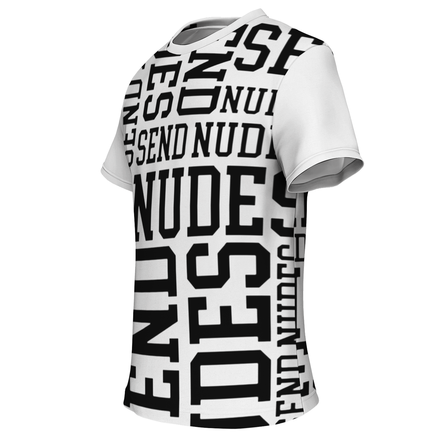 Send Nudes white PREMIUM t-shirt