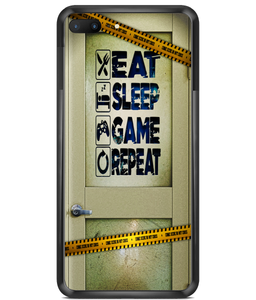 Premium Hard Phone Cases gamer, eat, sleep, game, repeat