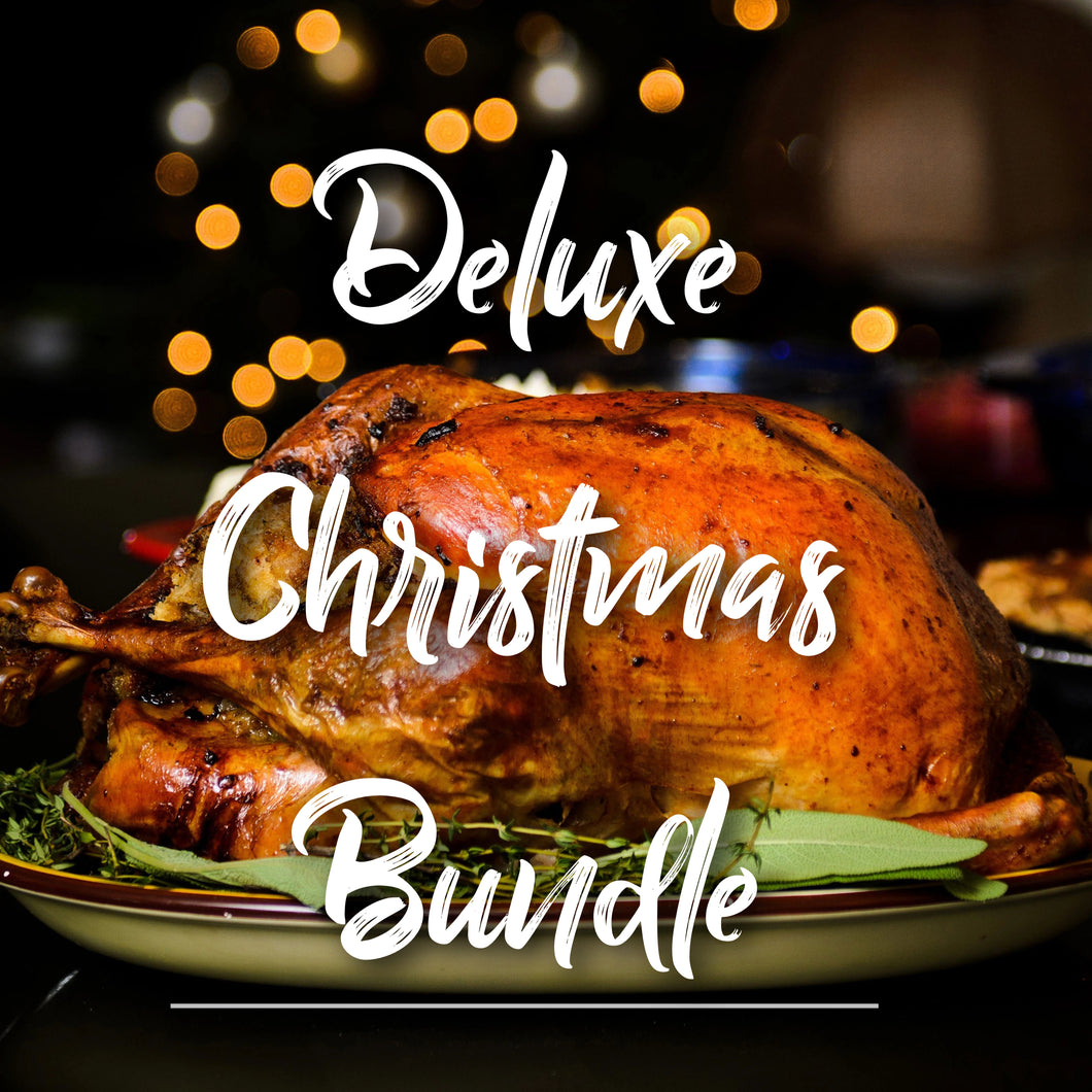 Deluxe Christmas Meat Bundle - Plus 2 Bottles of Hand Selected Wine