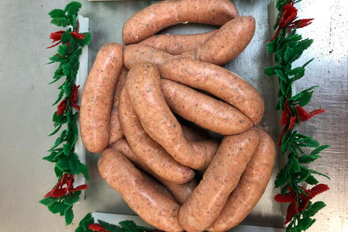 Welsh Dragon & Mint Sausages 1kg
