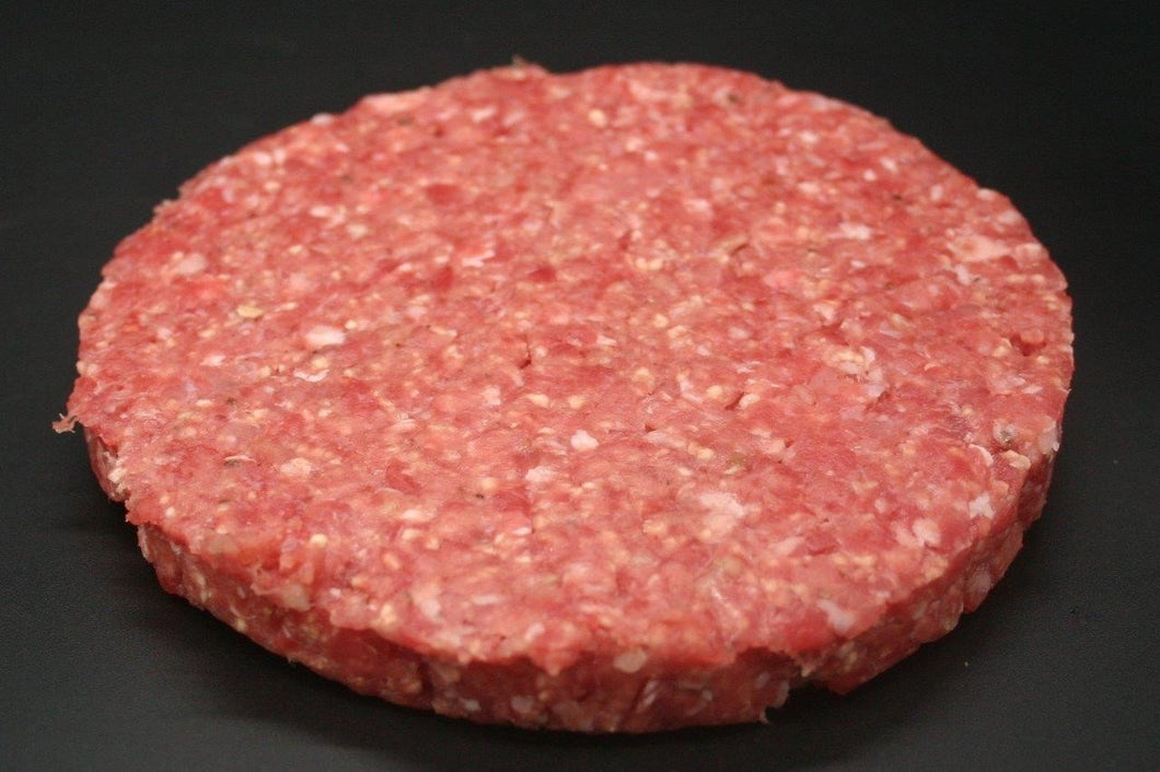 Homemade 8oz Gourmet Beef Burgers (Pack of 5)